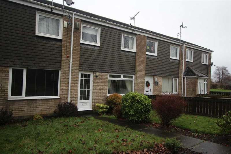 3 Bedrooms Terraced House for sale in Fareham Way, Parkside Dale, Cramlington