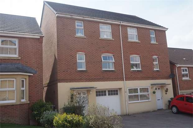 3 Bedrooms Town House for sale in Blacksmith Close, Oakdale, BLACKWOOD, Caerphilly