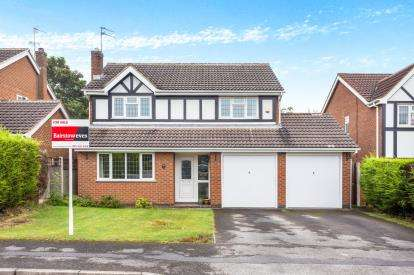 4 Bedrooms Detached House for sale in Far Rye, Wollaton, Nottingham, Nottinghamshire