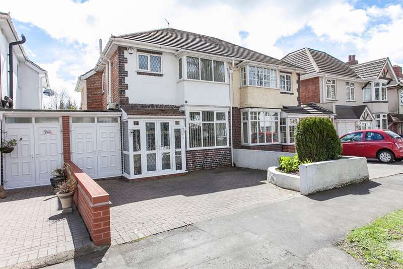 3 Bedrooms Semi Detached House for sale in Smirrells Road, Birmingham