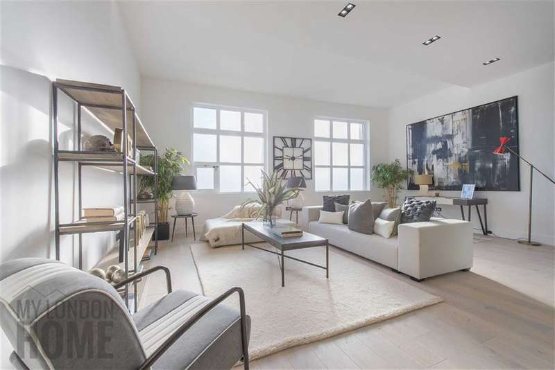 2 Bedrooms Property for sale in Mandeville Courtyard, Warriner Gardens, Battersea, London, SW11