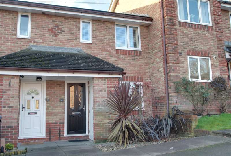 2 Bedrooms Terraced House for sale in Crown Rise, Chertsey, Surrey, KT16