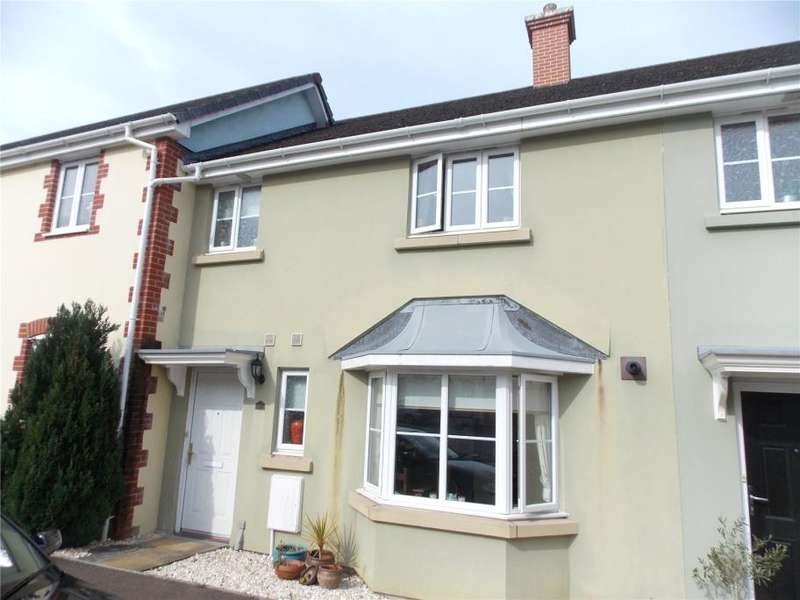 3 Bedrooms Terraced House for sale in Kensey Valley Meadow, Launceston, Cornwall