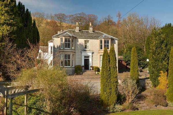 6 Bedrooms Detached House for sale in Springfield House, Harviestoun Road, Dollar