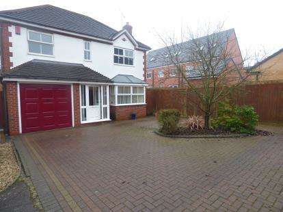 4 Bedrooms Detached House for sale in Homeward Way, Binley, Coventry, West Midlands