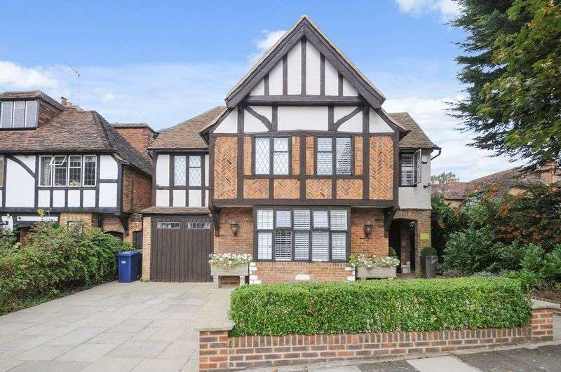 5 Bedrooms Detached House for sale in Vivian Way, Hampstead Garden Suburb, N2