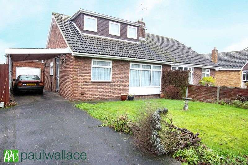 3 Bedrooms Semi Detached Bungalow for sale in Highland Road, Nazeing