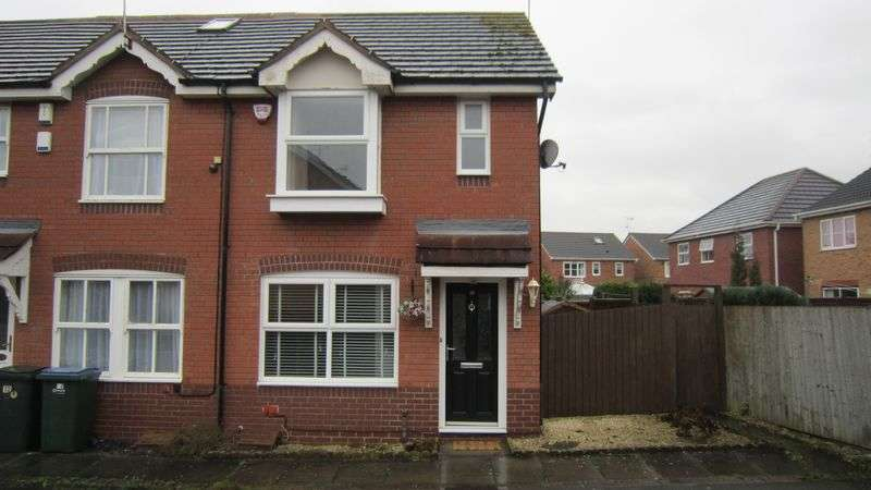 2 Bedrooms Terraced House for sale in Tideswell Close, Morrisons Estate, Binley, Coventry