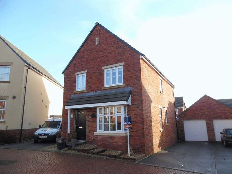 4 Bedrooms Detached House for sale in Lon Yr Helyg Coity Bridgend CF35 6DD
