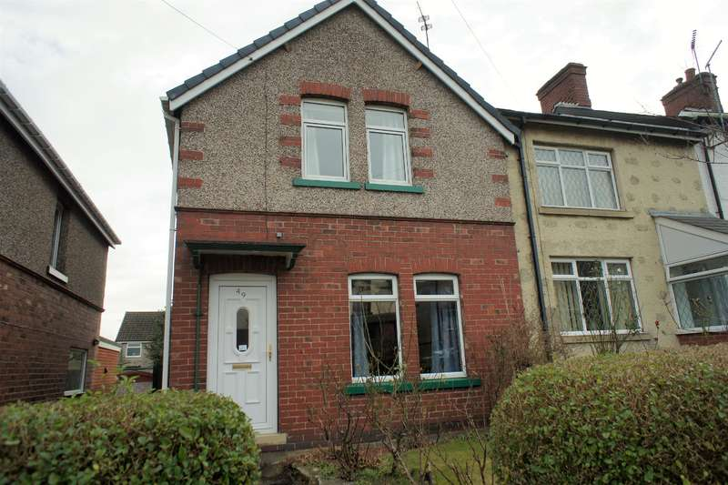 3 Bedrooms End Of Terrace House for sale in Sitwell Avenue, Stocksbridge, Sheffield, S36 1FF
