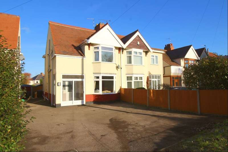 3 Bedrooms Semi Detached House for sale in Coventry Road, Hinckley, LE10