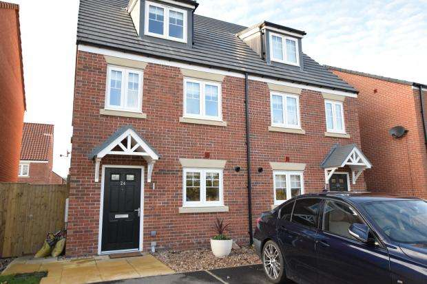 3 Bedrooms Semi Detached House for sale in Bramble Way, Scalby, Scarborough, North Yorkshire YO13 0BU