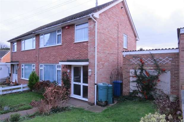 3 Bedrooms Semi Detached House for sale in Lydbrook Close, SITTINGBOURNE, Kent