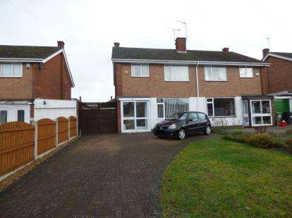 3 Bedrooms Semi Detached House for sale in Parklands Avenue, Leamington Spa, Warwickshire, England