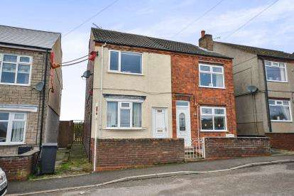 2 Bedrooms Semi Detached House for sale in New Lane, Hilcote, Alfreton, Derbyshire