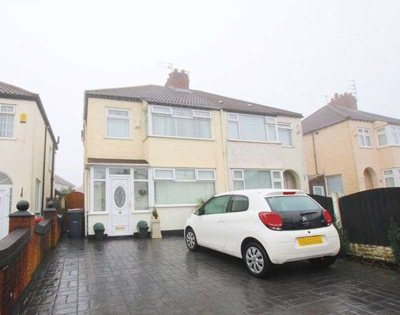 3 Bedrooms Semi Detached House for sale in Campbell Drive, Swanside, Liverpool, L14.