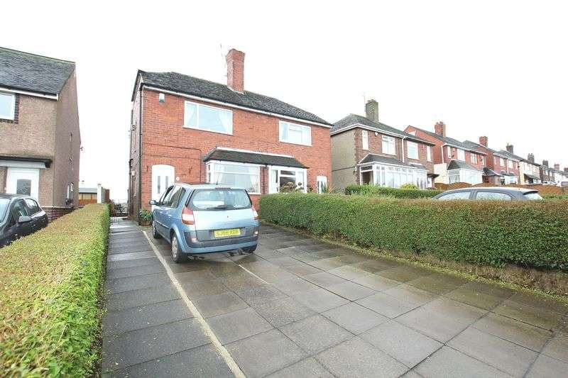 2 Bedrooms Semi Detached House for sale in Brown Lees Road, Brown Lees, Biddulph