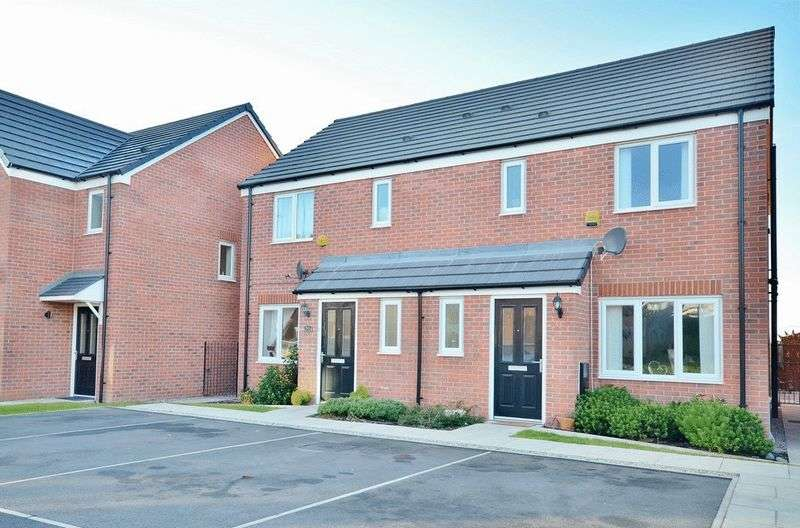 3 Bedrooms Semi Detached House for sale in Railbank Drive, Workington