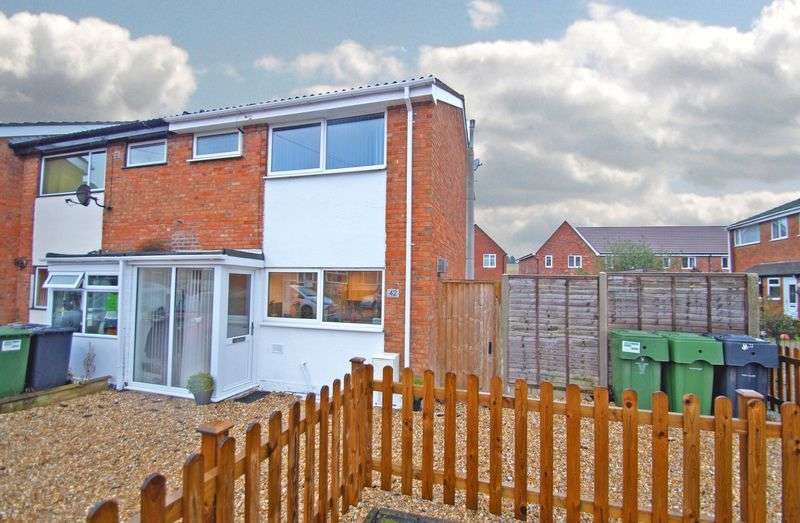 3 Bedrooms Terraced House for sale in Bourne Avenue, Catshill. Bromsgrove