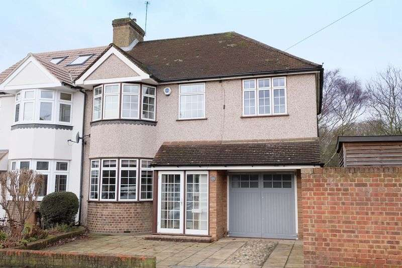 4 Bedrooms Semi Detached House for sale in Woodside Road, Bexleyheath