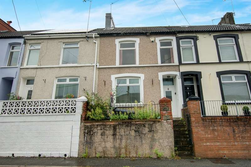 3 Bedrooms Terraced House for sale in Woodlands, Troedyrhiw, Merthyr Tydfil