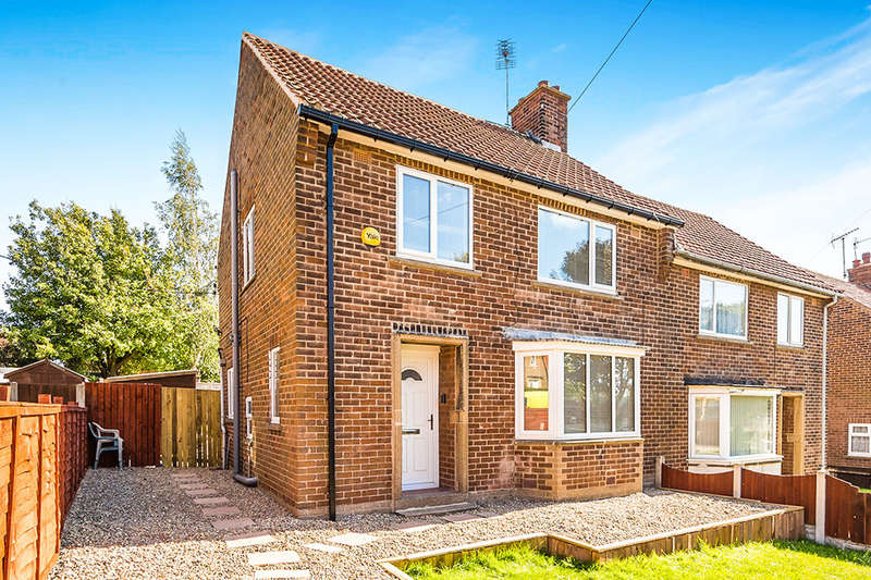 3 Bedrooms Semi Detached House for sale in The Rise, North Anston, Sheffield, S25
