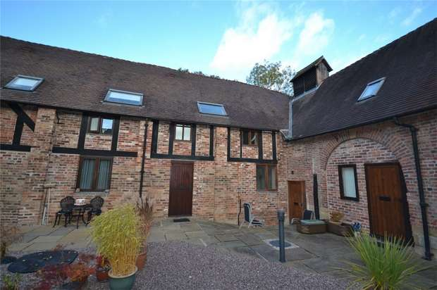 2 Bedrooms Mews House for sale in 5 King Charles Barns, Madeley, Telford, Shropshire