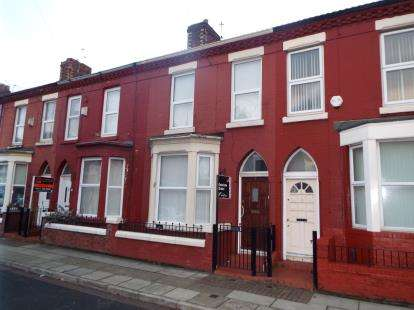 3 Bedrooms Terraced House for sale in Southbank Road, Liverpool, Merseyside, England, L7