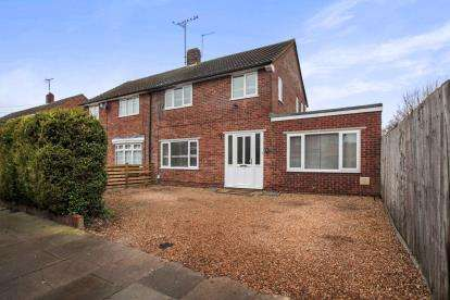 3 Bedrooms Semi Detached House for sale in Gorham Way, Dunstable, Bedfordshire, England