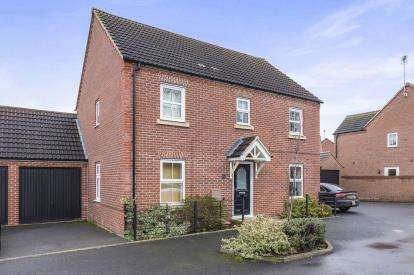 4 Bedrooms Detached House for sale in Marham Drive Kingsway, Quedgeley, Gloucester, Gloucestershire