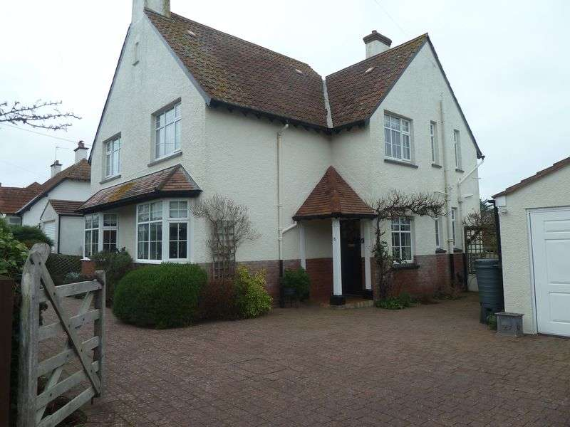 4 Bedrooms Detached House for sale in West Cliff Road, Dawlish