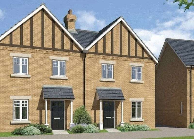 3 Bedrooms Semi Detached House for sale in Plot 49 - The Eynsham, Downsview Park