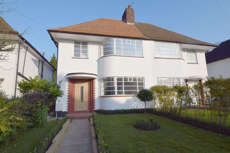 4 Bedrooms Semi Detached House for sale in Howard Walk, Hampstead Garden Suburb, London N2