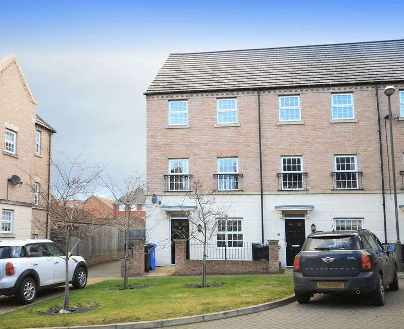 4 Bedrooms Terraced House for sale in FALSTAFF COURT, CHELLASTON