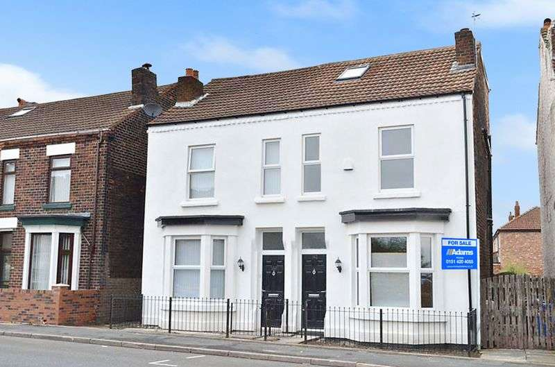 4 Bedrooms Semi Detached House for sale in Liverpool Road, Widnes