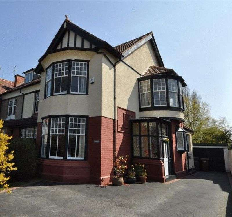 5 Bedrooms Semi Detached House for sale in Birkenhead Road, Meols
