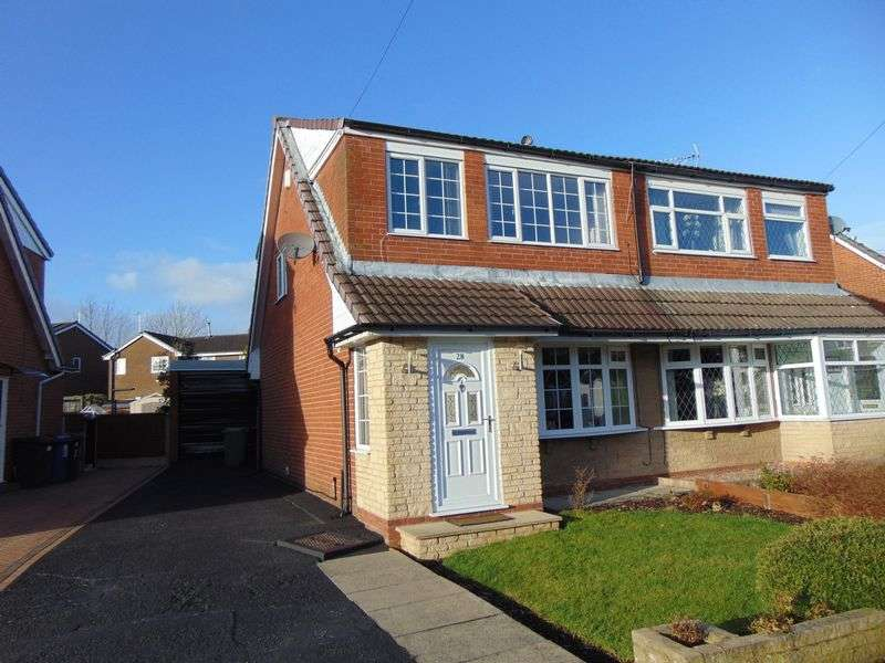 3 Bedrooms Semi Detached House for sale in Pickering Close, Bury