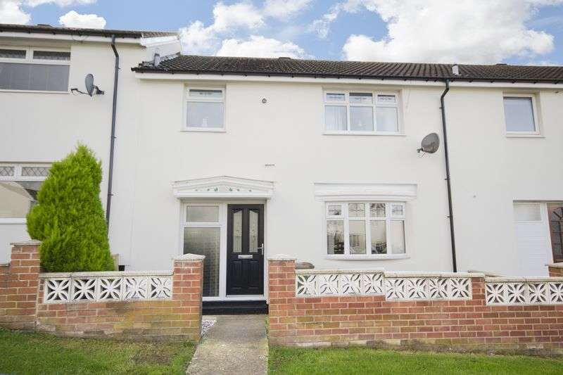 3 Bedrooms Terraced House for sale in Ancroft Drive, Ormesby, Middlesbrough, TS7 9NQ