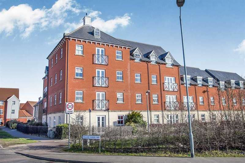 2 Bedrooms Apartment Flat for sale in William Harris Way, Colchester