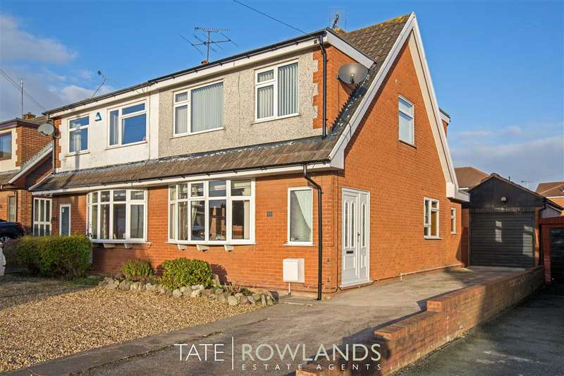 3 Bedrooms Semi Detached House for sale in Avondale Road, Buckley