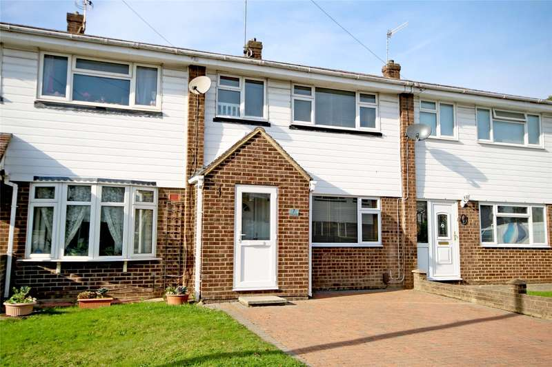 3 Bedrooms Terraced House for sale in Lea Way, Aldershot, Hampshire, GU12