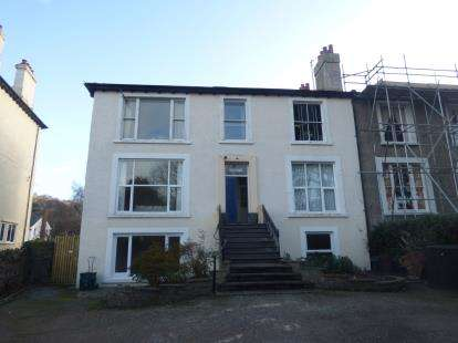 4 Bedrooms Maisonette Flat for sale in Angorfa, Park Crescent, Llanfairfechan, Conwy, LL33