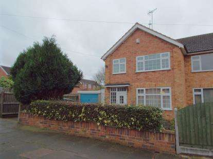 3 Bedrooms Semi Detached House for sale in Shrewsbury Avenue, Leicester, Leicestershire