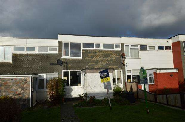 3 Bedrooms Terraced House for sale in Chypraze Court, Camborne, Cornwall