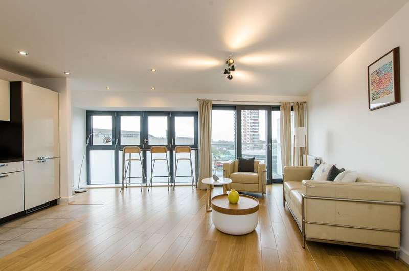 2 Bedrooms Flat for sale in Surrey Quays Road, Canada Water, SE16