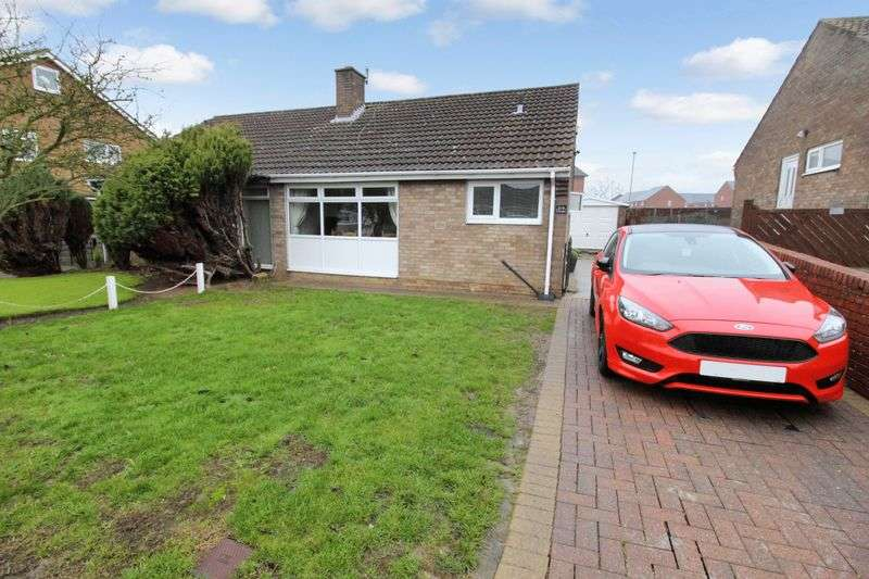 2 Bedrooms Semi Detached Bungalow for sale in Overdale, Eastfield