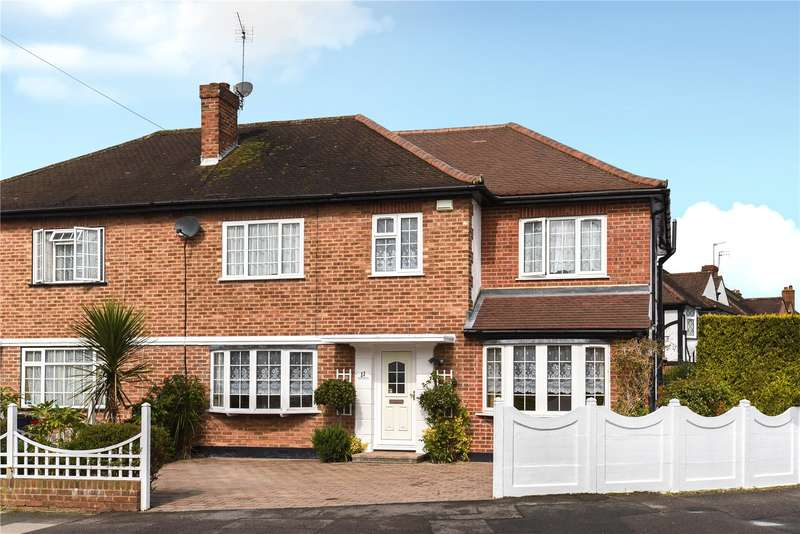 4 Bedrooms Semi Detached House for sale in Aragon Drive, Eastcote, Middlesex, HA4