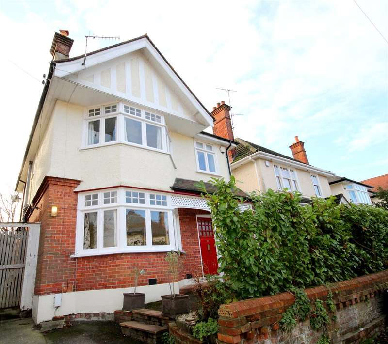 3 Bedrooms Detached House for sale in Parkstone Avenue, Lower Parkstone, Poole, Dorset, BH14