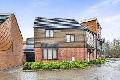 3 Bedrooms Link Detached House for sale in Bicton Chase, Broughton, Milton Keynes, Bucks