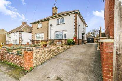 3 Bedrooms Semi Detached House for sale in Rock Road, Finedon, Wellingborough, Northamptonshire
